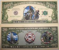 2001 Firefighter Bill