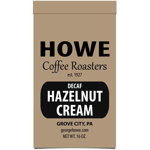 Decaf Hazelnut Cream 1 lb. bag