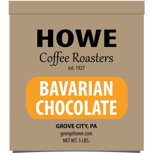 Bavarian Chocolate Whole Bean 5 lb. bag