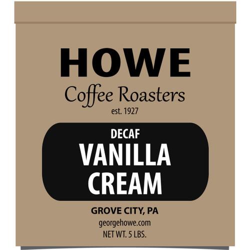 Decaf Vanilla Cream Whole Bean 5 lb. bag