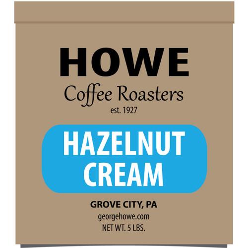 Hazelnut Cream Whole Bean 5 lb. bag