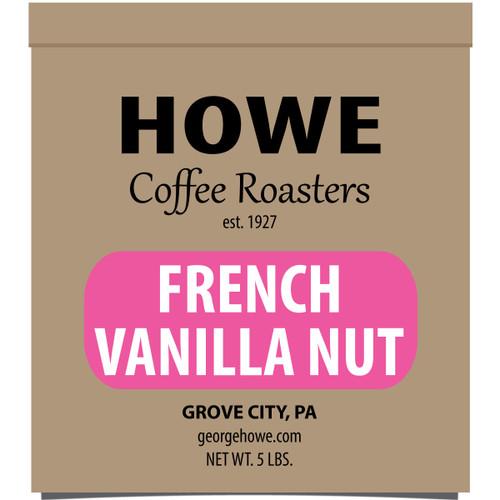 French Vanilla Nut Whole Bean 5 lb. bag