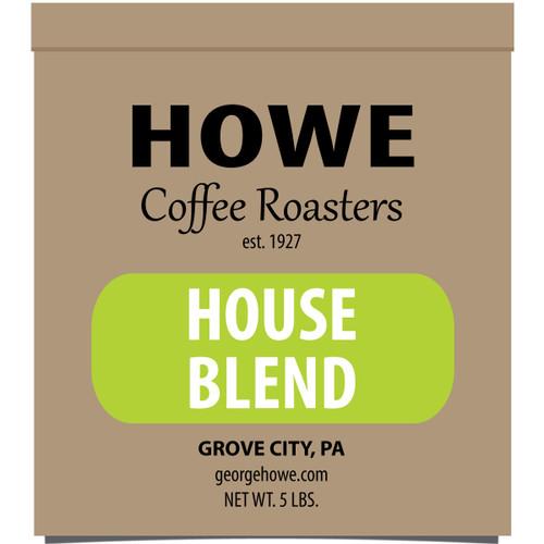 House Blend Whole Bean 5 lb. bag