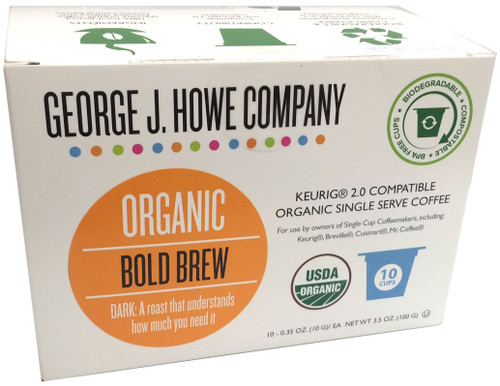 Bold Brew Organic Single Serve Cups - 10 ct.