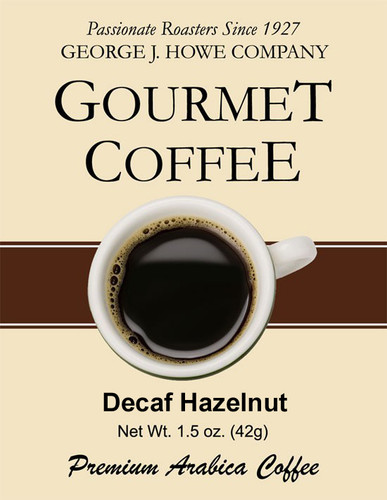 Decaf Hazelnut Cream 1.5 oz. packs