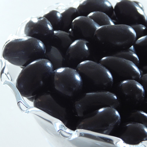 Jumbo Licorice Jelly Beans 30 lb. case
