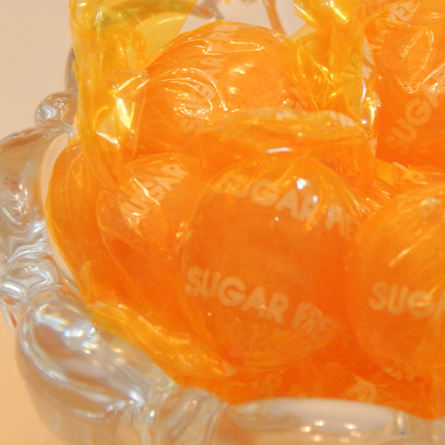 Sugar Free Butterscotch Buttons 10 lb. case