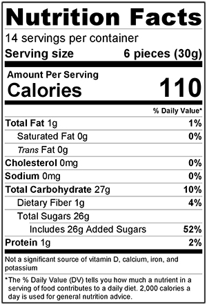 Nutritional Information