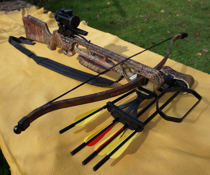 Inferno Fury II Recurve Crossbow Package