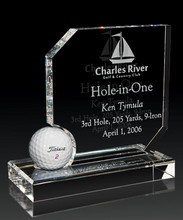 Crystal Hole-in-One Award