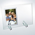 "Beveled Glass Vertical Mirror Photo Frame for 5""x3 1/2"" photo"