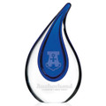 Blue Drop Hand Blown Glass Award