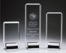 Crystal Tower Awards. Free engraving