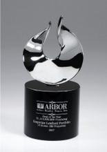 Passion Crystal Award, personalized crystal