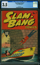 SLAM-BANG COMICS #7 (1940) CGC 3.5 VG-