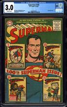 Superman #100 (1955) CGC 3.0