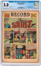 Spirit Section #nn June 9, 1940 CGC 5.0 - 2nd issue - 1st app Ebony!