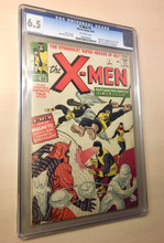 X-Men #1 (1963) CGC 6.5 Fine + OFF-WHITE pages