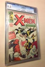 X-Men #1 (1963) CGC 6.5 Fine + OFF-WHITE pages