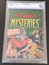 Strange Mysteries #1 CBCS 7.5 WHITE pages