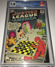 Justice League of America #1 (1960) CGC 7.0 FVF