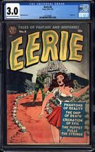 Eerie #4 (1951, Avon) CGC 3.0 Classic cover