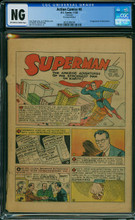 Action Comics #6 (1938) Coverless 1st app Jimmy Olsen