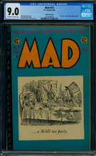 Mad #15 (EC, 1954) CGC 9.0 VFNM Gaines File copy