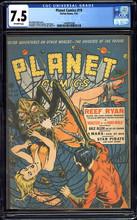 Planet Comics #19 (1942) CGC 7.5 VF- Classic cover