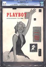 Playboy #1 (1953) CGC 6.0 Rare Red Star edition