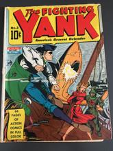 Fighting Yank #3 (1941)  Classic Nazi shark cover! Rare
