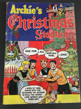 Archies Christmas Stocking #1 (1954) GD+