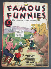 Famous Funnies #8 (1935) Fair 1.0