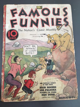 Famous Funnies #8 (1935) FRG 1.5