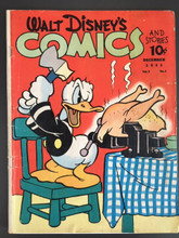 Walt Disney Comics and Stories #15 (1941) G+