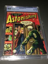 Astonishing #18 (1952) CBCS 4.0 Classic cover