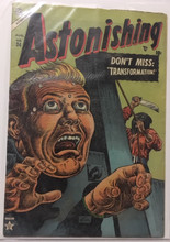 Astonishing #34 (1954) VG+ Classic beheading cover