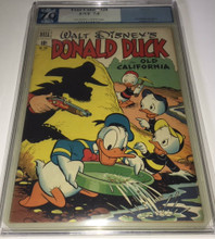 Four Color Comics #328 (1951) PGX 7.0 FVF Donald Duck