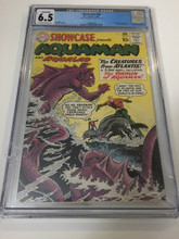 Showcase #30 (1961) CGC 6.5 F+ 1st  Aquaman