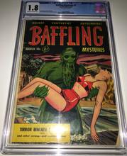 Baffling #7 (1952) CGC 1.8 Classic cover