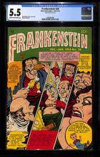 Frankenstein #28 (1953) CGC 5.5 FN-
