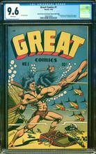 Great Comics #1 (1945) CGC 9.6 NM+ Mile High copy