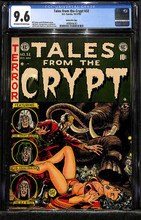Tales from the Crypt #32 (1954, EC) CGC 9.6 NM+ Gaines FC