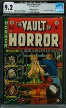 Vault of Horror #35 (1954) CGC 9.2 NM- Gaines FC