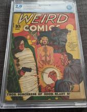 Weird Comics #2 (1940) CBCS 2.0 GD Classic cover Rare!
