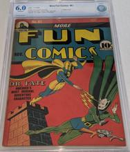 More Fun Comics #61 (1941) CBCS 6.0 Classic Dr Fate cvr