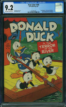 Four Color Comics #108 (1946) CGC 9.2 NM- Donald Duck