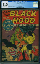 Top-Notch Comics #9 (1940, MLJ) CGC 3.0