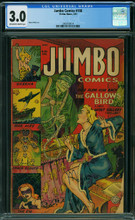Jumbo Comics #166 (1953) CGC 3.0 Horror cover