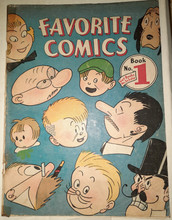 Favorite Comics #1 (1934) Covers Rare!!!!